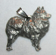 American Eskimo Dog Harris Fine Pewter Pendant Usa Made