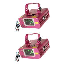 CHAUVET DJ Scorpion Dual Fat Beam Aerial Light Effect Laser w/IR Remote (2 Pack)