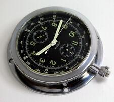Rare LEMANIA Borduhr für Rennwagen BOARD CHRONOGRAPH Oldtimer Chrono Watch
