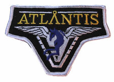 "Stargate Atlantis Pegasus Shoulder Logo 4"" Wide Embroidered Iron on Patch"