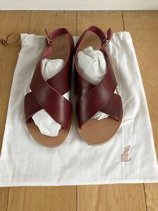 Ancient Greek Sandals - 41 (worn once)