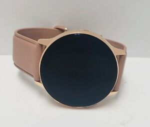 Samsung Galaxy Watch Active 2 (40mm) Gold Stainless Steel Case with Pink Band