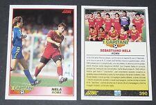 390 I CAPITANI NELA AS ROMA FOOTBALL CARD 92 1991-1992 CALCIO ITALIA SERIE A