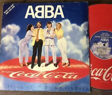 ABBA Slipping Through My Fingers-2nd edition JAPAN-ONLY COLA PROMO LP PD-1005 B