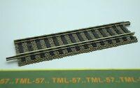 Voie FLEISCHMANN PROFI HO Rail droit 100 mm ref 6103 av ballast intégré Lot de 3