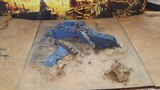 forge world 40K  pro painted realm of battle crashed thunderhawk ANY CHAPTER