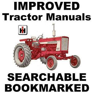 IH Farmall 544 656 666 686 Hydro 70 86 Diesel Service MANUAL BEST= SEARCHABLE CD