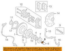MITSUBISHI OEM 97-04 Montero Sport Brake-Front-Snap Ring MB092882