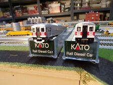 Kato N Scale New Haven Rail Diesel Car Set B