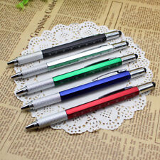 Multifunction Ballpoint Pen Screwdriver Ruler Spirit Level With A Top And Scale