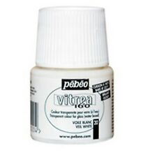 Glass Paint - Pebeo Vitrea 160 Veil White (Free Shipping)