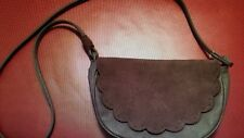 American Eagle Brown Leather Crossbody HANDBAG Purse Mint Condition Ships Today