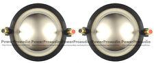 2pcs 74.46 mm High Quality Aftermarket Diaphragm for B&C DE800 16 ohms