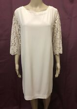 ZIMMERMANN DRESS WOMENS ~ SIZE 1 OR AU 10 ~ EXC COND FLORAL DESIGN LACE SLEEVES