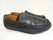 Geox Respira Women's J Fast A Smooth Black Loafers Size 39 EU 6 USA