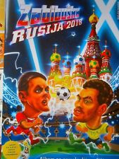 New FIFA World Cup Russia 2018 Caricature Empty Football Album&Sticker Zabibuska