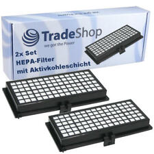 2x Active Airclean HEPA-Filter für Miele S300 - S456 / S500 - S658 Serie