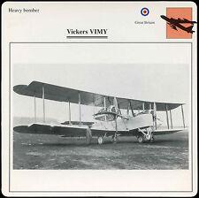 Vickers Vimy - Aircraft - D1 075 53.15 - Edito Card