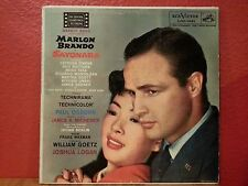Marlon Brando in SAYONARA Motion Picture Soundtrack RCA Victor LOC-1041, 1957
