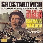Shostakovich: The Fall of Berlin, , Very Good Soundtrack