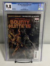 Star Wars Bounty Hunter 5 CGC 9.8