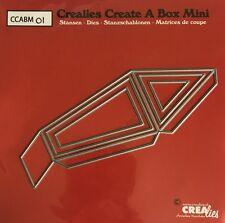 NEW Crealies Create a Box MINI No.1 LANTERN Cutting Dies CCABM01  52x141mm