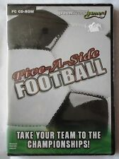 FIVE-A-SIDE FOOTBALL PC CD-ROM GAME brand new & sealed UK ORIGINAL
