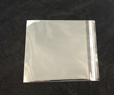 100PCS Clear Self Adhesive Seal Plastic Bags 15x13cm #22599