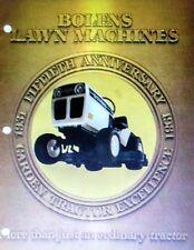 Bolens G11XL H16XT QT17 HT23 HT20D Lawn Garden Tractor Full Color Sales Catalog