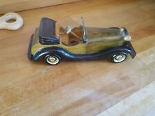 Vintage Wooden model car hand made old style collectable gift