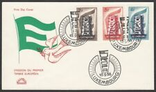 Luxembourg, 1956 Europa CEPT Illustrated FDC. Unaddressed & Unsealed. Superb