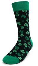 Men's Irish Shamrock Novelty Casual Socks 1PR One Size Think St. Patrick's Day