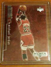 1999 MICHAEL JORDAN RED 2 STAR BLACK DIAMOND #2040/3000 Card #7