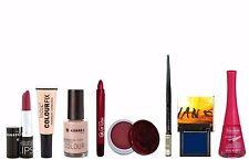 8pc Korres, Bourjois & Laura Paige Blue, Magenta & Nude Makeup Giftset (E)