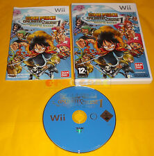 ONE PIECE UNLIMITED CRUISE 1 Nintendo Wii Ver Italiana 1ª Edizione ○○ USATO - AI
