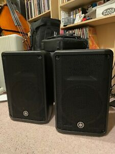 Yamaha DBR10 (Pair) With Covers / MG82cx Mixer / Proel Speaker Stands (Pair)