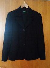 Damen Blazer Jacke Gr. L 42 schwarz United colors of benetton