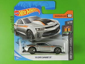 Hot Wheels 2020 - '18 Copo Camaro Ss - Hw Dream Garage - 20 - New Original