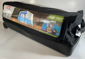 COLEMAN Octagon 98 8-Person Half Rainfly Tent, BLUE 13x13ft 3 Season Camping NEW