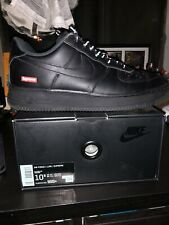 Supreme x Air Force 1 (black) Men's size 10.5