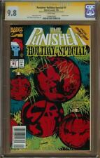 Punisher Holiday Special #1 CGC 9.8 Signature Series RODNEY RAMOS & STEVEN GRANT