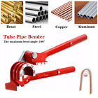 Tubing Tube Bender 1/4' 5/16' 3/8' Aluminum Copper Steel 90° Fuel Brake Tool