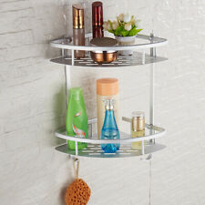 Aluminum Bathroom Shelf Wall Mount Corner Organizer Kitchen Shelving & Storage