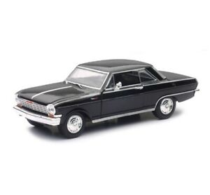 Chevrolet Nova SS in Black (1:25 scale by New-Ray Toys 71823B)