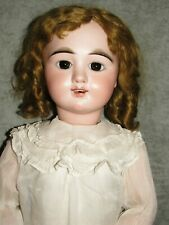 "30"" EDEN BEBE Paris French Bisque Doll, Paperweight Eyes, No Damage, Life Size!"