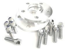 BMW Hub Centric Wheel Spacers Kit 5x120 (2) 15mm W/ (10) Bolts 40mm Shank