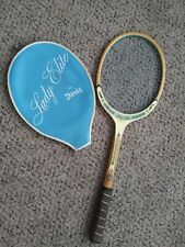 Vintage Lady Elite by Davis Tad Tennis Raquet With Cover