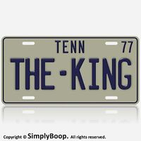 Tennessee Elvis The King of Rock 'N' Roll  Replica 1977 License Plate Tag New