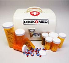 LOCKMED Vanguard Medication Lock Box w/ Combination Lock 10x8x6 Free US Shipping
