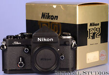 NIKON F2/T TITANIUM CAMERA SLR BODY MINT W/ BOX RARE